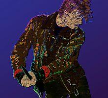 Bowie Guitar 1 by Michael Donnellan