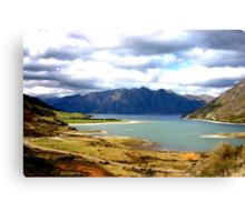 Lake Hawea New Zealand Canvas Print