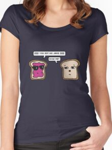 [Cute toasts] - You got no jams - Rap Monster (BTS) Women's Fitted Scoop T-Shirt