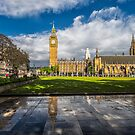 Big Ben after the rain by THHoang