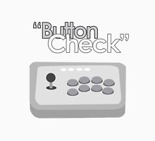 Button Check Fighting Game Arcade Stick Unisex T-Shirt