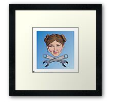 Kaylee and Crosswrenches Framed Print