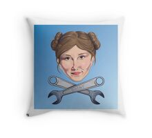 Kaylee and Crosswrenches Throw Pillow