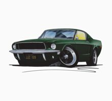Ford Mustang GT390 Bullitt Kids Clothes