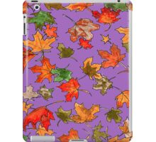 Hand drawn Leaves pattern iPad Case/Skin