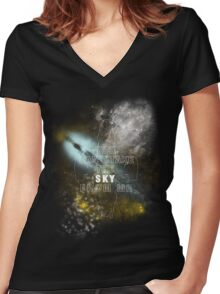 The ballad of Serenity Women's Fitted V-Neck T-Shirt