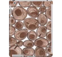 Wooden annual ring pattern iPad Case/Skin