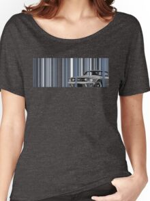 Mustang Stripes Women's Relaxed Fit T-Shirt