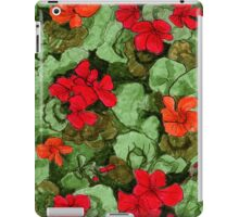Garden cress floral pattern iPad Case/Skin