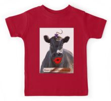HOWS ABOUT A KISS HANDSOME Kids Tee