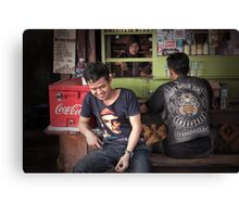 vespa appreciation - west java Canvas Print