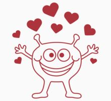 Cute Love Monster by Style-O-Mat