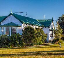 A Guest House in Strahan, Tasmania, Australia by Elaine Teague