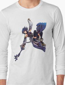Aqua - Night Sky Edit Long Sleeve T-Shirt