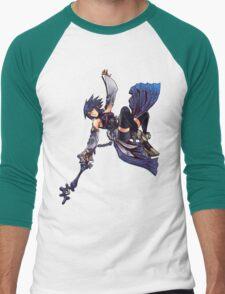 Aqua - Night Sky Edit Men's Baseball ¾ T-Shirt