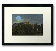Watching Over the Earth Framed Print