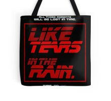 Tears in the Rain Tote Bag