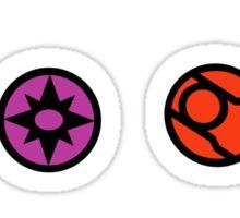 Lantern Symbols Sticker