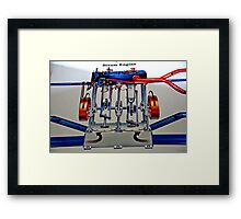 And It Works Like This...... Framed Print