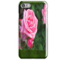 Pink Roses in Anzures 1 Blank P1F0 iPhone Case/Skin