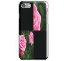 Pink Roses in Anzures 1 Blank Q2F0 iPhone Case/Skin