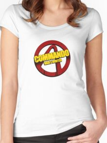 Commando Women's Fitted Scoop T-Shirt