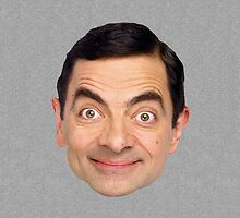 Mr Bean Face by vincepro76