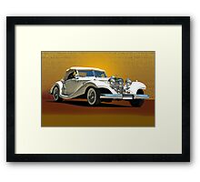 1937 Mercedes 540 SSK  Framed Print