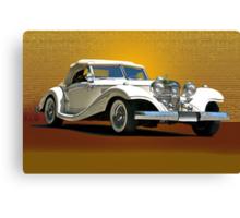 1937 Mercedes 540 SSK  Canvas Print