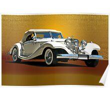 1937 Mercedes 540 SSK  Poster