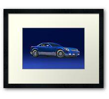 2000 Cadillac SLR Framed Print