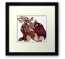 plague momma Framed Print