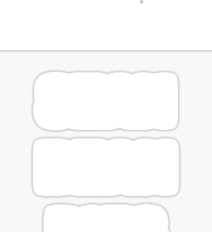 Spoiler Sean Bean Dies(white text) Sticker