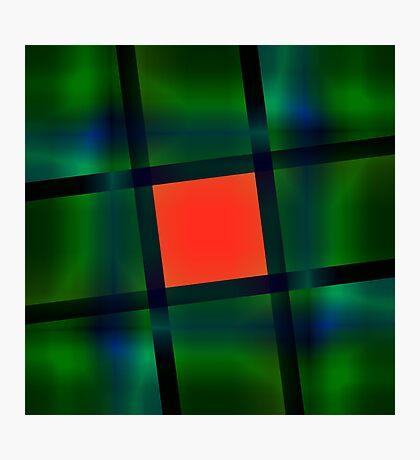Rubix Cube Photographic Print