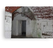 Fort Warren, Battery Stevenson, Magazine Hoist Room Canvas Print