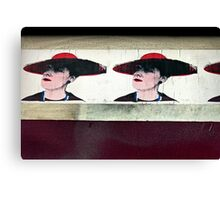 Red Hat Ladies of Stokes Croft Canvas Print
