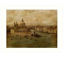 Vintage Venice Art Print