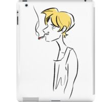 Guy iPad Case/Skin