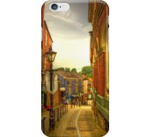 Bridge Street Brow, Stockport iPhone Case/Skin