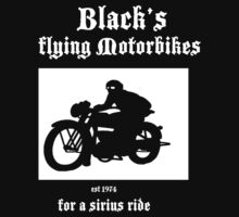 Black's Flying Motorbikes by Andrew3118