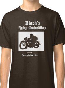Black's Flying Motorbikes Classic T-Shirt