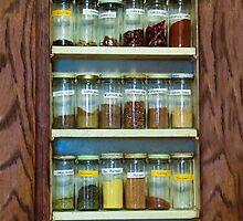 My Spice Cabinet by heatherfriedman
