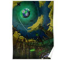Alien World Concept Poster