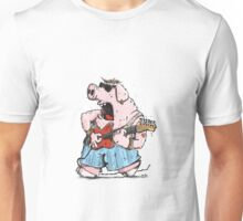 The Pig has the Blues Unisex T-Shirt
