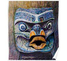 Totem Head Poster