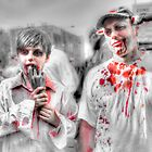 Father & Son Zombies by Noam  Kostucki