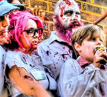 Zombies and Undead Family by Noam  Kostucki