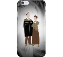 The Lutece Twins iPhone Case/Skin