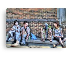 Zombies and Undeads Need a Rest, Too! Canvas Print