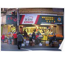 Chinatown Indoor Outdoor Market 7am Poster